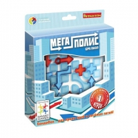 Логическая игра Bondibon Мегаполис-GPS пазл, арт. SG 470 RU