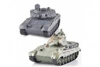 Танковый бой T90 и Tiger King на р/у ZEGAN 99820