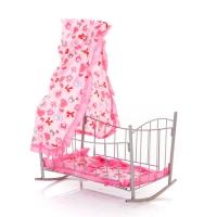 Кровать-качалка для кукол Melobo 9349