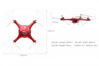 Квадрокоптер с транслирующей камерой SYMA X5UW FPV Syma X5UW