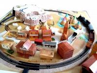 Железная дорога «MEHANO» Western train с ландшафтом 3,35 м (T109)