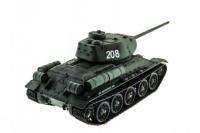Радиоуправляемый танк Russia T34-85 Pro масштаб 1:16 2.4G Heng Long 3909-1 pro