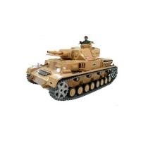 Радиоуправляемый танк Heng Long DAK Pz. Kpfw.IV Ausf. F-1 1:16 - 3858-1 PRO