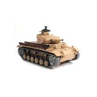 Радиоуправляемый танк Heng Long Tauch Panzer III Ausf.H 1:16 - 3849-1 PRO