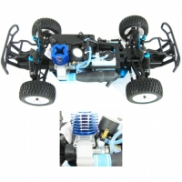 Радиоуправляемый джип с ДВС HSP 4WD Nitro Destrier Monster-Two Speed 1:10 - 94155 - 2.4G