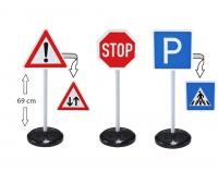 Игрушечные дорожные знаки (3шт.) BIG
