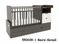 """Кровать – трансформер СКВ-5 """"Жираф, 2 ящика, маятник"""