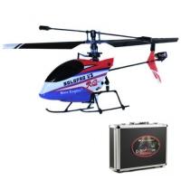Радиоуправляемый вертолет Nine Eagles Solo Pro V3 260A (RED&BLUE) 2.4 GHz RTF в кейсе