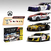 Радиоуправляемый конструктор - спортивные автомобили BMW, Nissan, Bugatti Veyron и Audi R8 - 2028-4S01B