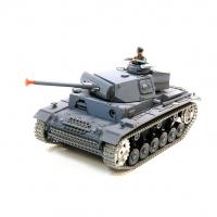 Радиоуправляемый танк Heng Long Panzerkampfwagen III 1:16 - 3848-1 PRO