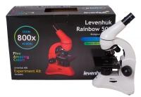 Микроскоп Levenhuk Rainbow 50L Moonstone\Лунный камень