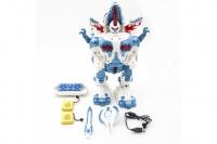 Радиоуправляемый робот трансформер 2 в 1 (робот и динозавр) Defa Toys DT-6028
