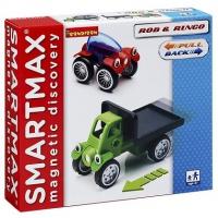 Магнитный конструктор Bondibon Специальный (Special) SmartMax набор инерционный:Роб и Ринго, арт. 208