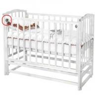 Кроватка Можга Кристина  (Красная Звезда  (слоновая кость)