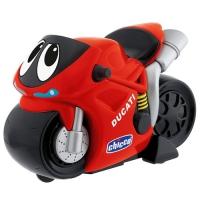 Турбо-мотоцикл Chicco чёрный «Ducati»
