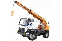 Радиоуправляемый конструктор автокран со стрелой / эвакуатор Cada Technics 2 в 1 Double Eagle C51013W