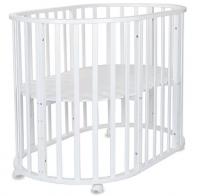 Кровать-трансформер круглая 7 в 1 СКВ-10, колесо