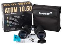Бинокль Levenhuk Atom 10–30x50