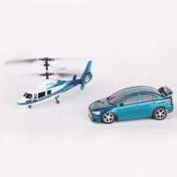 Радиоуправляемый игровой набор Wineya вертолет и машина - W3010HC