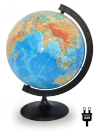 Глобус физический диаметром 320 мм с подсветкой Levenhuk
