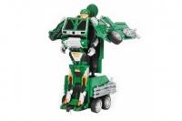 Радиоуправляемый робот трансформер MZ Военный грузовик 1:14 Meizhi MZ-2809P