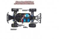 Радиоуправляемая модель Шорт-корс трака Remo Hobby Rocket  RH1621