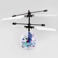 Радиоуправляемая игрушка - вертолет Flying Ball Мигающий Шар - 1318
