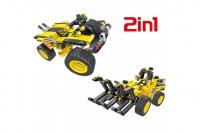 Конструктор 2 в 1 (трактор и багги)  342 детали QiHui QH6804