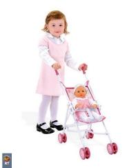 24063 Smoby Прогулочная коляска Baby Nurse