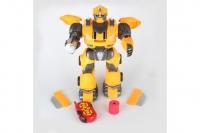 Радиоуправляемый робот трансформер, стреляет дисками Defa Toys DT-6021