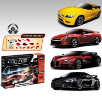 Радиоуправляемый конструктор - автомобили BMW, Nissan, Bugatti Veyron и Audi R8 - 2028-4F01B