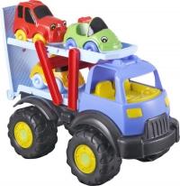Грузовик-автовоз Pilsan Power с 3-мя машинками Tombik