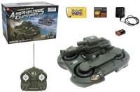 Радиоуправляемый танк-амфибия стреляющий шариками - 24883