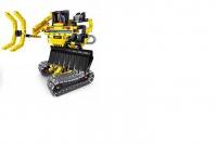 Конструктор 2 в 1 (экскаватор и робот) 342 детали QiHui QH6801