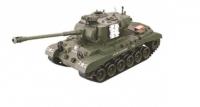 Радиоуправляемый танк M26 Pershing (Snow Leopard) зеленый масштаб 1:20 27Мгц Household 4101-3