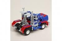"""Радиоуправляемый конструктор 2 в 1 - грузовик """"Оптимус Прайм"""" и джип QiHui QH8006"""