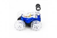 Радиоуправляемая трюковая синяя машинка-перевертыш RENDA RD930