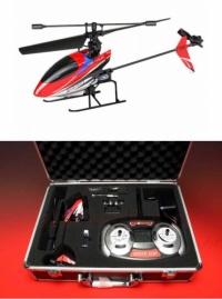 Радиоуправляемый вертолет Nine Eagles Solo PRO V1 2.4 GHz AL Case