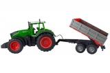 Радиоуправляемый фермерский трактор с прицепом Double E 1:16 2.4G Double Eagle E354-003