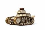Конструктор 3D деревянный подвижный Lemmo Танк МС-1 - 00-25