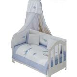 Комплект в кроватку из 6 предметов Kidboo серия LITTLE PILOT