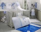 Комплект в кроватку из 6 предметов Kidboo серия RABITTO