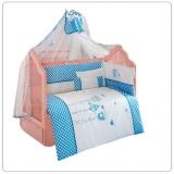 Комплект в кроватку из 6 предметов Kidboo серия LOVELY BIRDS