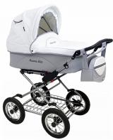 Детская коляска 2 в 1 Maxima Elite кожа