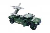 Радиоуправляемый конструктор боевой джип QiHui Technics 4CH 2.4G 502 детали QiHui QH8013