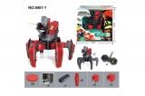 Робот-паук (лазер, диски) 2.4GHz (синий, красный) + АКК и ЗУ Wow Stuff 9001-1