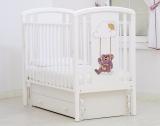 """Кровать детская К-2002-30 """"Жаклин"""" декор Мишка на качелях"""