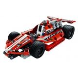 Конструктор DeCool гоночная машина с инерционным механизмом, 158 деталей - DL-3412
