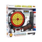 """Игровой набор """"Лазерный пистолет и мишень с указанием баллов"""" на батарейках - XZ-H9V"""