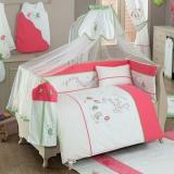 Комплект в кроватку из 6 предметов Kidboo серия SINGER BIRDS